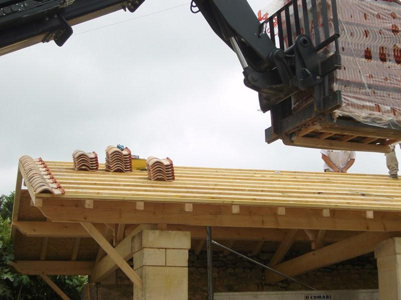 Rénovation Charpente Couverture Dun Porche Sarl Toit